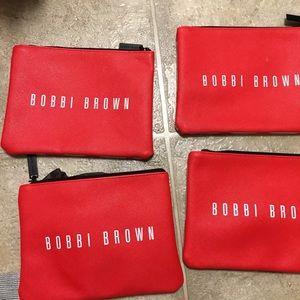 Bobbi Brown Bags - Bobbi brown makeup bags (4) like new